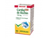 W Cartilaj de rechin 740 mg PLUS x 100 caps.