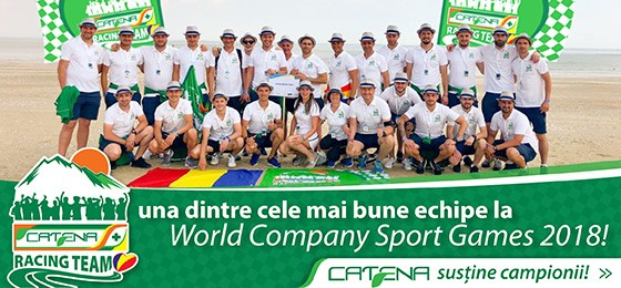Catena Racing Team la World Company Sport Games 2018