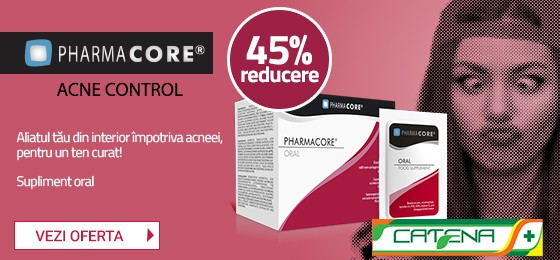 Supliment Oral Pharmacore Acne Control